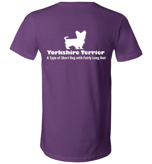 T-Shirt Wordings - Educational Word - Yorkshire Terrier