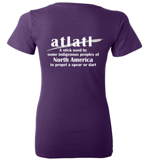 Ladies T-Shirt | Atlatl