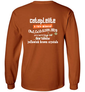 T-Shirt Wordings - Educational Word - Catapleiite