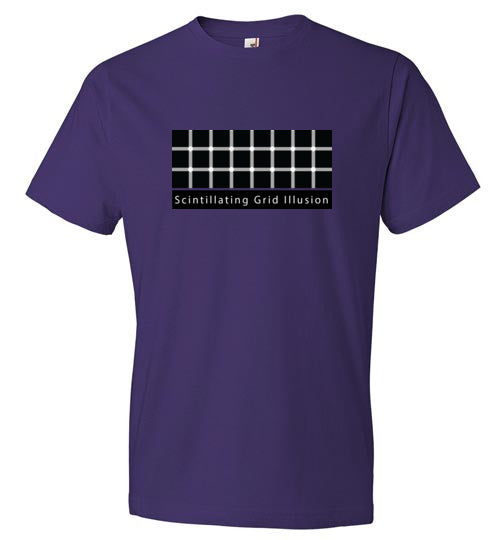 T-Shirt Optical IIlusion - Scintillating Grid Illusion