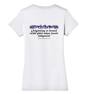 T-Shirt Wordings - Educational Word - Autochthonous