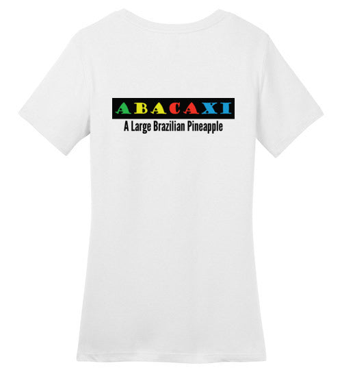 T-Shirt Wordings - Educational Word - Abacaxi