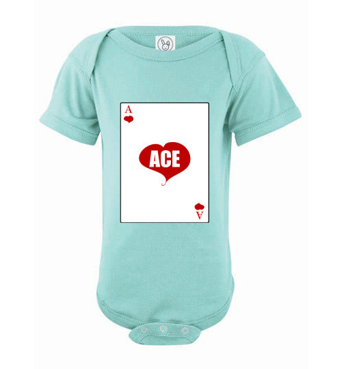 Infant/Baby Short Sleeve Bodysuit - Ace - Chill