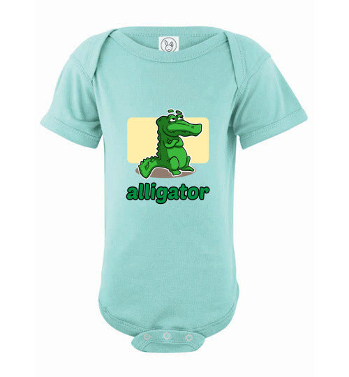 Infant Bodysuit - Alligator