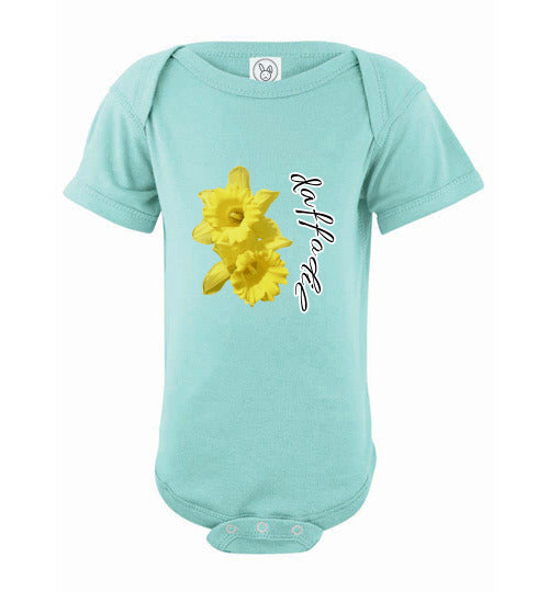 Infant Short Sleeve Bodysuit - Daffodil - Chill
