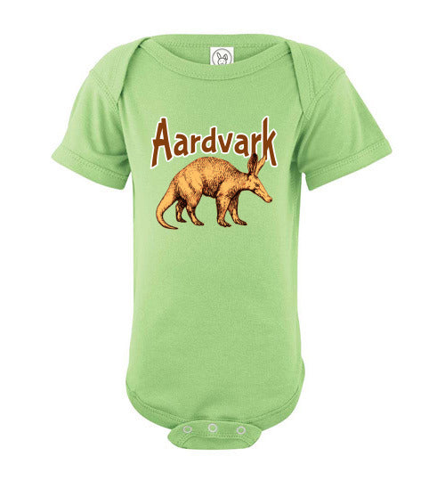 Infant Bodysuit - Aardvark - Key Lime