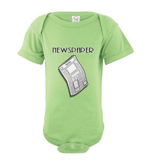 Infant / Baby Bodysuit | Newspaper