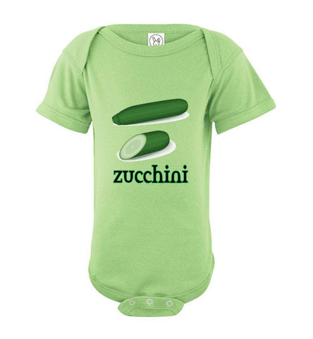Infant / Baby Bodysuit or Onesie | Zucchini