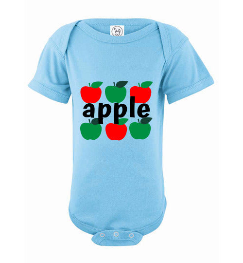Infant Bodysuit - Apple