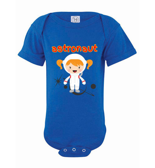 Infant Bodysuit - Astronaut- Blue