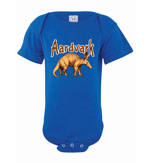 Infant Bodysuit - Aardvark - Royal