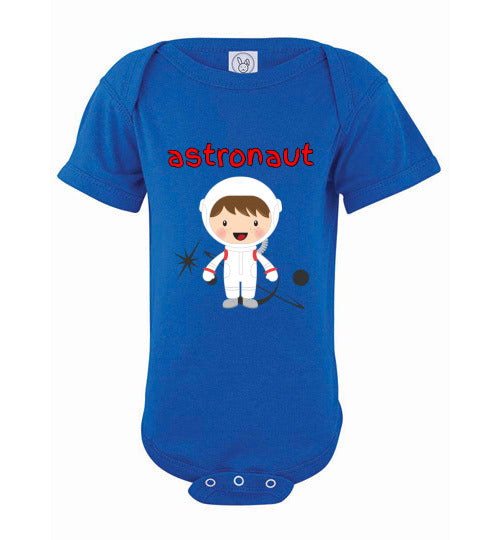 Infant/Baby Bodysuit - Astronaut - Royal