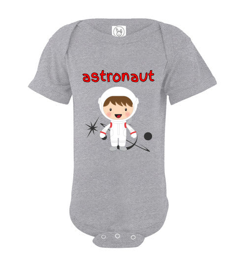 Infant/Baby Bodysuit - Astronaut - Heather