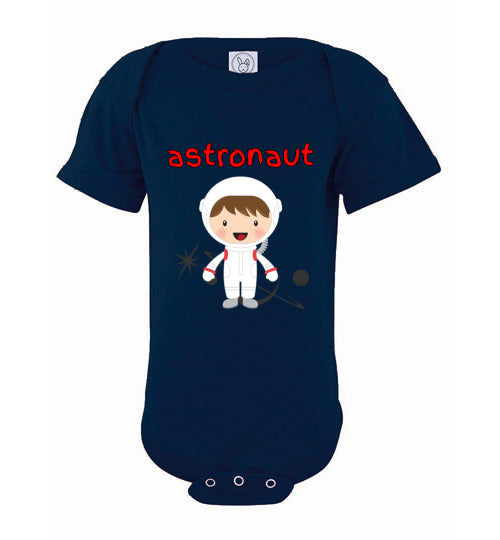 Infant/Baby Bodysuit - Astronaut - Navy