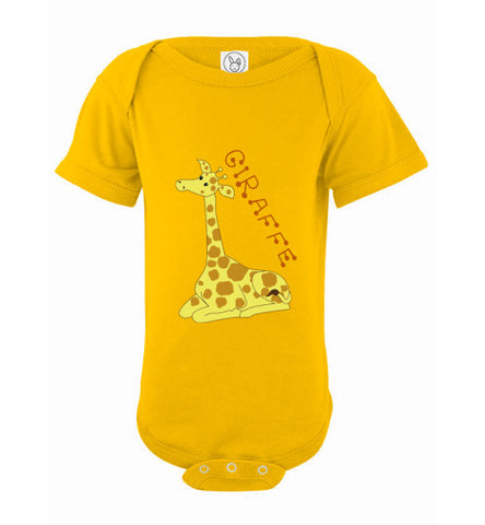 Infant / Baby Bodysuit | Giraffe