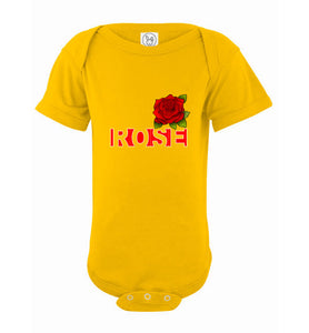 Infant / Baby Bodysuit | Rose