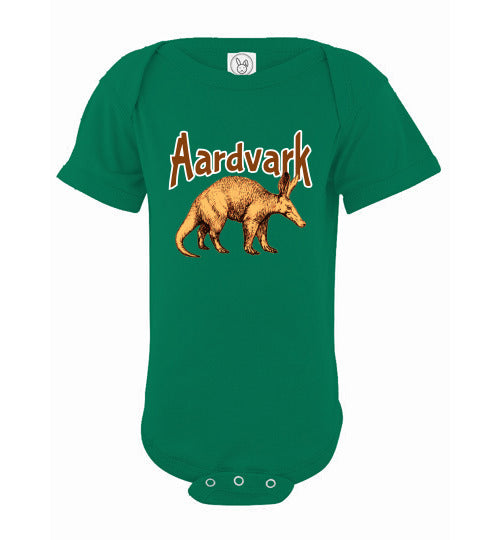 Infant Bodysuit - Aardvark - Kelly