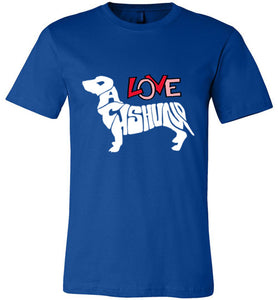 Dogs T-shirt | Love Dachshund