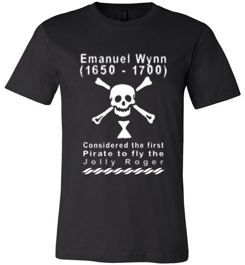 Pirates T-Shirt | Emanuel Wynn - Black