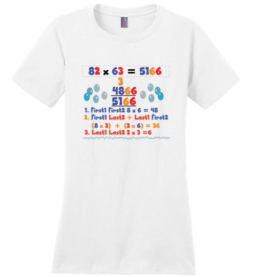T-Shirt Wordings - Simple Math - 82 x 63