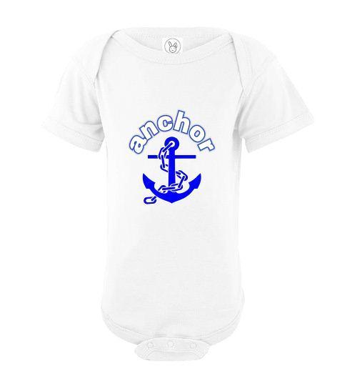 Infant Bodysuit - Anchor