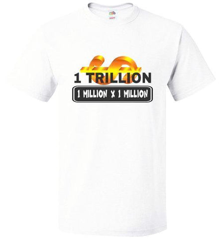 Unisex FOL T-Shirt | 1 Trillion - White
