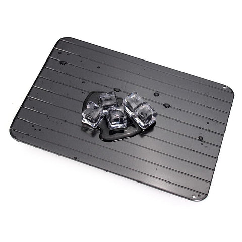 Rapid Food Thawing Tray - Fast Meat Defrosting Board