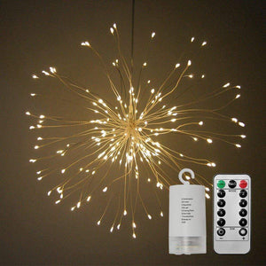 LED Firework String Lights For Outdoor / Indoor Use & Waterproof