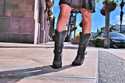 FIORA boots, western boots, luxury dress shoes