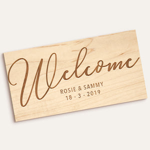 Custom Etched Rectangle Plaque