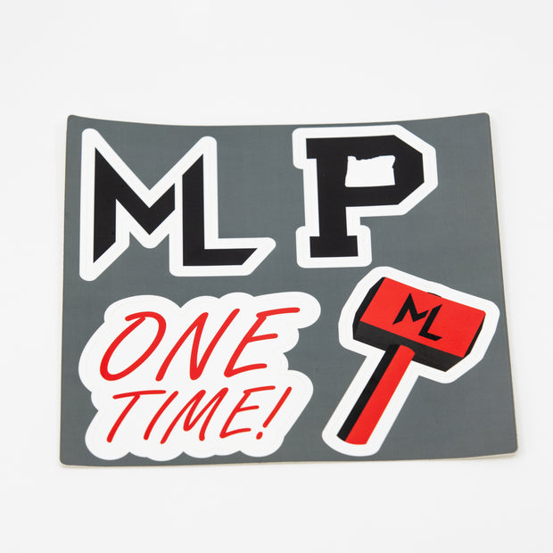 ML x Portland Gear Sticker Pack
