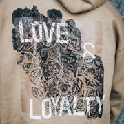 Tan Love & Loyalty Hoodie