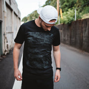 Multi-Layered Camo Tee