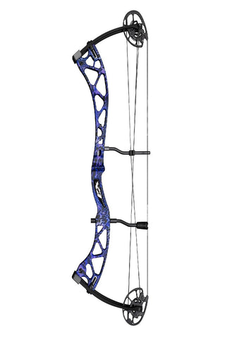Martin Archery Carbon Mist Compound Bow RH Pkg 50lb Purple