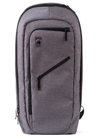 Guard Dog Bulletproof Backpack w-Charging Bank - Grey