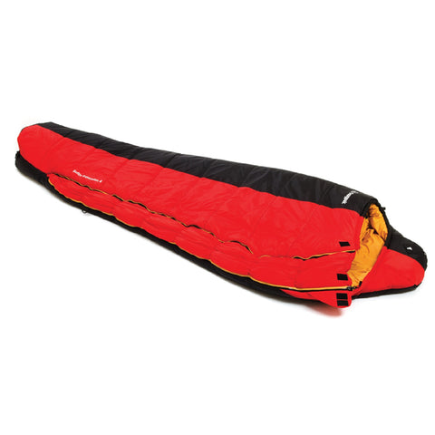 Snugpak Softie Expansion 4 Sleeping Bag - Black-Red