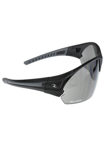 Radians CSB102 Shooting Glasses - Matte Black-Gray-Amber