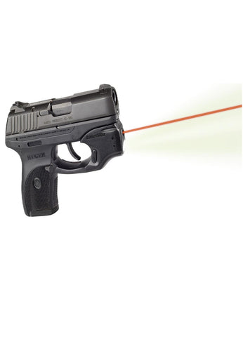 LaserMax Centerfire Light-Laser Red w-Grip Sense Ruger LC