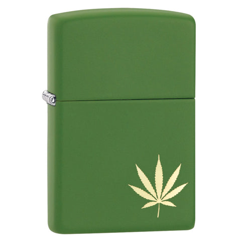 Zippo Leaf on the Side Lighter