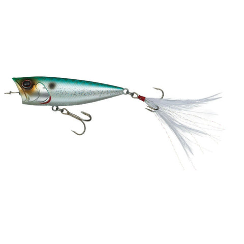 Evergreen OB Topwater Plug 2.66in Emerald Shiner OB-68-244