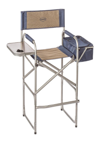 Kamp-Rite High Back Director's Chair w-Table & Cooler