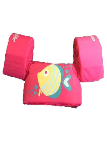 Stearns Puddle Jumper Children's Life Jacket - Pink Fish