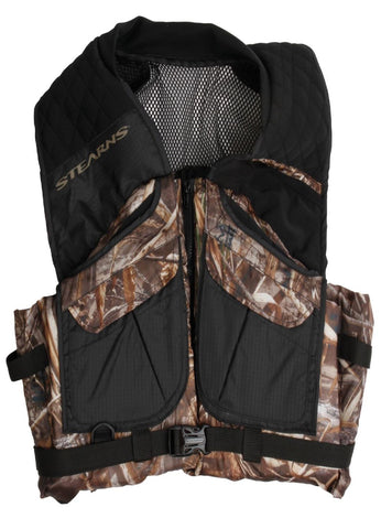 Stearns Pfd Adult Comfort Series Max-5 Camo Vest Small