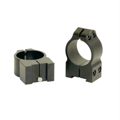Warne 1 inch Tikka Permanently Attached - Medium Matte Rings