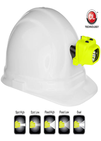 Nightstick XPP-5454GC Intrinsically Safe Headlamp w Hat Clip