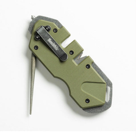 Smiths PP1 Tactical Mini Sharpener OD Green