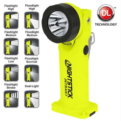 Nightstick Angle Light 3 AA Yellow 200 Lumens
