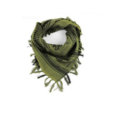 Impulse Product Tactical Shemagh 42 x 42 in Light Olive-Blk