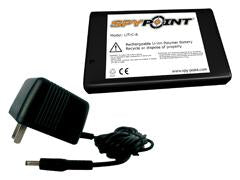 Spypoint Rechargable Lithium Battery W-Ac Charger Lit-C-8