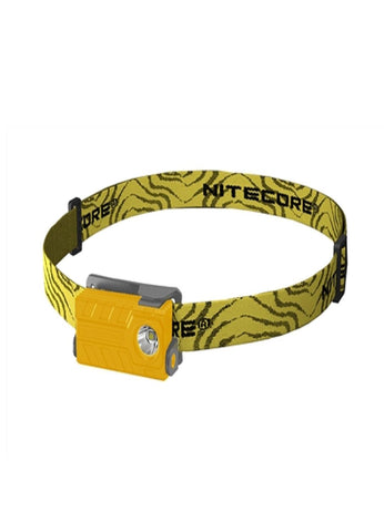 Nitecore NU20 USB Rechargeable Headlamp Yellow